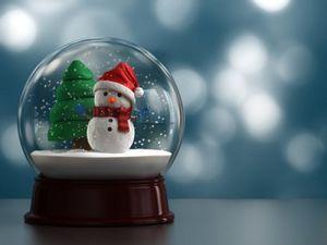 Marché de Noël de Sisteron -  - Boule À Neige
