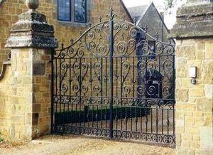 Cotswold Decorative Ironworkers -  - Portail De Jardin