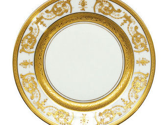 Haviland - imp�rator or incrustation - Assiette Plate