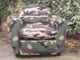 Englers - fauteuil club camouflage - Fauteuil Club
