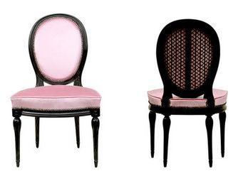 Gilles Nouailhac - chaise palissy louis xvi - Chaise M�daillon