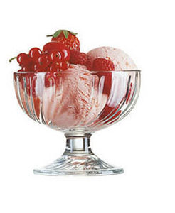 Arcoroc - sorbet - Coupe � Glace