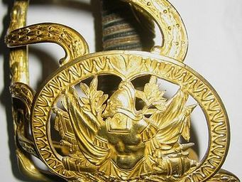 Bernard Bruel expertise - sabre d'officier superieur de cavalerie - Sabre