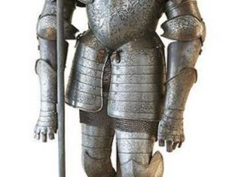 Aux Armes d'Antan - armure de style xvième siècle, époque viollet le duc - Armure