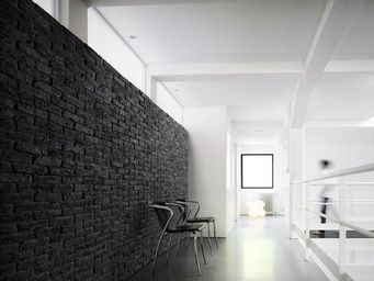 Orsol - brique black - Parement Mural Int�rieur