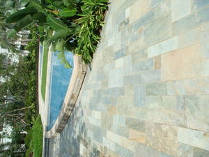 Nature-marbre - multicolore slate - Ardoise Murale