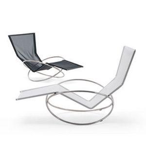 100x100 Design - chaise longue loop - Chaise Longue De Jardin