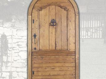 Portes Anciennes - la queyras - Porte D'entr�e Pleine