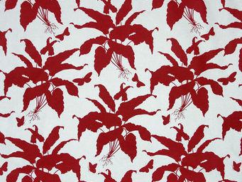 Equipo DRT - jamaica rojo - Tissu Imprimé