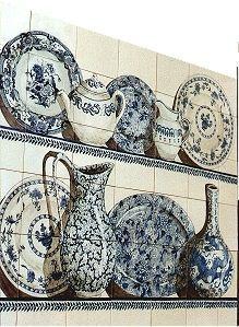 Claudia Meynell - trompe l'oeil blue & white china - Trompe L'oeil