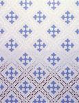 Barron Glass - gothic blue - Panneau De Fen�tre