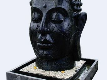 MEMOIRE DES ORIGINES - Buddha Head - Fontaine D'ext�rieur