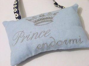 La petite Lucienne - prince et princesse endormie - Coussin De Porte