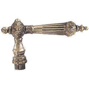 FERRURES ET PATINES - poignee de porte en bronze pour porte d'entree ou - Poignée Béquille