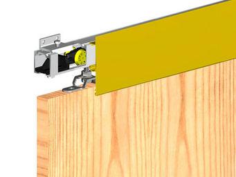 Wimove - bandeau aluminium anodise dore - longueur 1,8 m po - Motorisation Pour Porte D'int�rieur