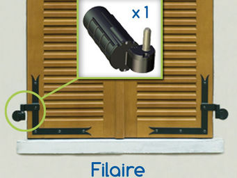 Wimove - kit motorisation volets battants gauche wibat fila - Automatisme Et Motorisation Pour Volet