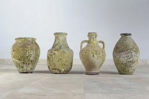 HERITAGE ARTISANAT - thèbes - Vase Décoratif
