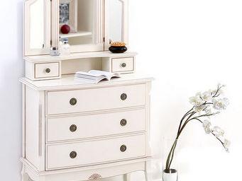 Miliboo - bianca miroir - Coiffeuse