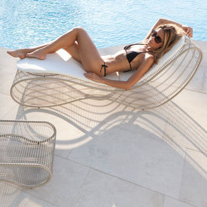 ITALY DREAM DESIGN - sinuo - Chaise Longue De Jardin