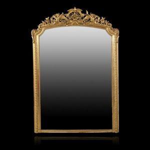 Expertissim - important miroir d'époque napoléon iii - Miroir