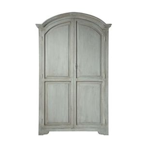Maisons du monde - armoire gris perle saint-rémy - Armoire À Portes Battantes