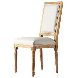 Maisons du monde - chaise lin régence - Chaise