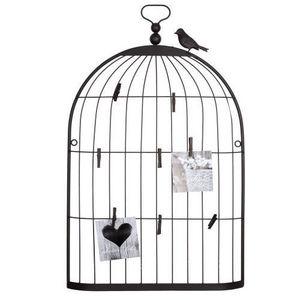 Maisons du monde - p�le-m�le cage oiseau rusty petit mod�le - P�le M�le