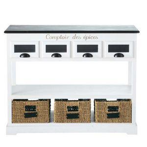 Maisons du monde - console comptoir des épices - Etagère À Épices