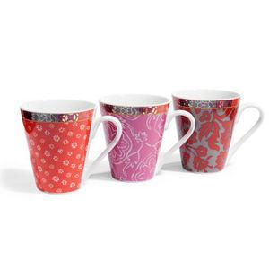 Maisons du monde - assortiment de 6 mugs raja - Mug