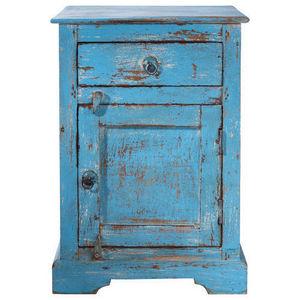 Maisons du monde - chevet bleu avignon - Table De Chevet