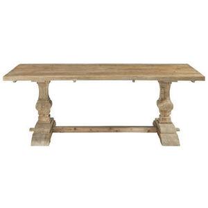 Maisons du monde - table à dîner bois naturel lourmarin - Table De Repas Rectangulaire