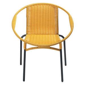 Maisons du monde - fauteuil jaune rio - Fauteuil De Jardin