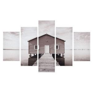 Maisons du monde - toile destructurée sea side - Tableau Décoratif