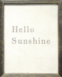 Sugarboo Designs - art print - hello sunshine - Tableau D�coratif
