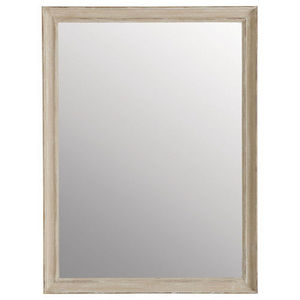 Maisons du monde - miroir elianne beige 90x120 - Miroir