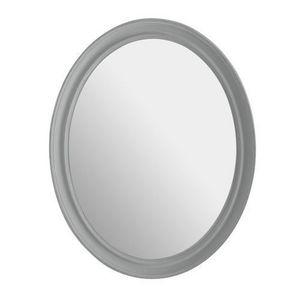 Maisons du monde - miroir elianne ovale gris - Miroir