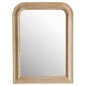 Maisons du monde - miroir florence arrondi 60x80 - Miroir