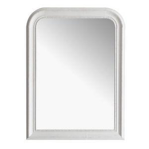 Maisons du monde - miroir louis blanc 60x80 - Miroir