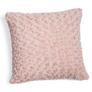 Maisons du monde - coussin rose lilas - Coussin Carré