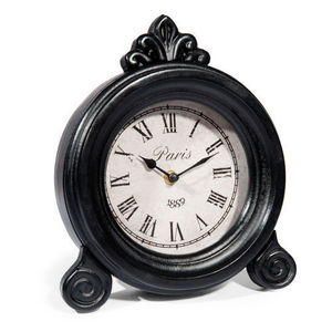 Maisons du monde - horloge william noire - Horloge À Poser
