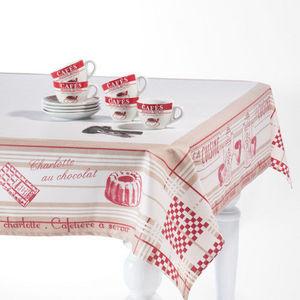 Maisons du monde - nappe brocante enduite - Nappe Rectangulaire
