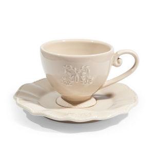 Maisons du monde - tasse et soucoupe café bourgeoisie - Tasse À Café