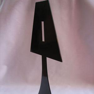 Fenel & Arno - bougeoir lampe en métal noir chandelier electic - Bougeoir