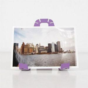 Fenel & Arno - support photos a 3 pat violet - lilas - Cadre
