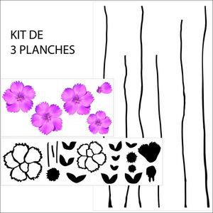 ALFRED CREATION - sticker fleur05 - Gommettes
