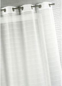 HOMEMAISON.COM - voilage fantaise à fines rayures - Voilage