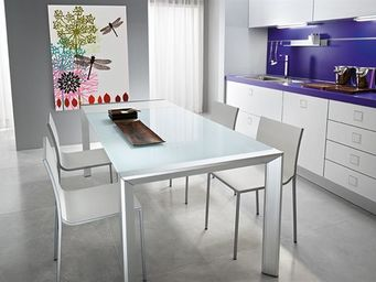 Fiam - afill alluminio - Table De Repas Rectangulaire
