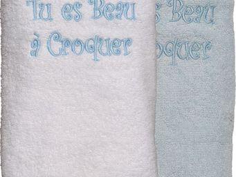 SIRETEX - SENSEI - drap douche 70x140cm beau a croquer - Drap De Bain Enfant