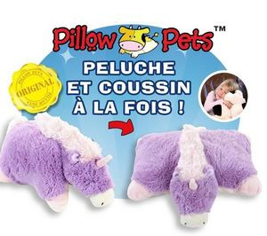 SPINMASTER - pillow pet - peluche 46 cm licorne - Peluche