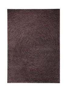 ESPRIT - tapis colour in motion rond taupe 200x200 en acryl - Tapis Traditionnel